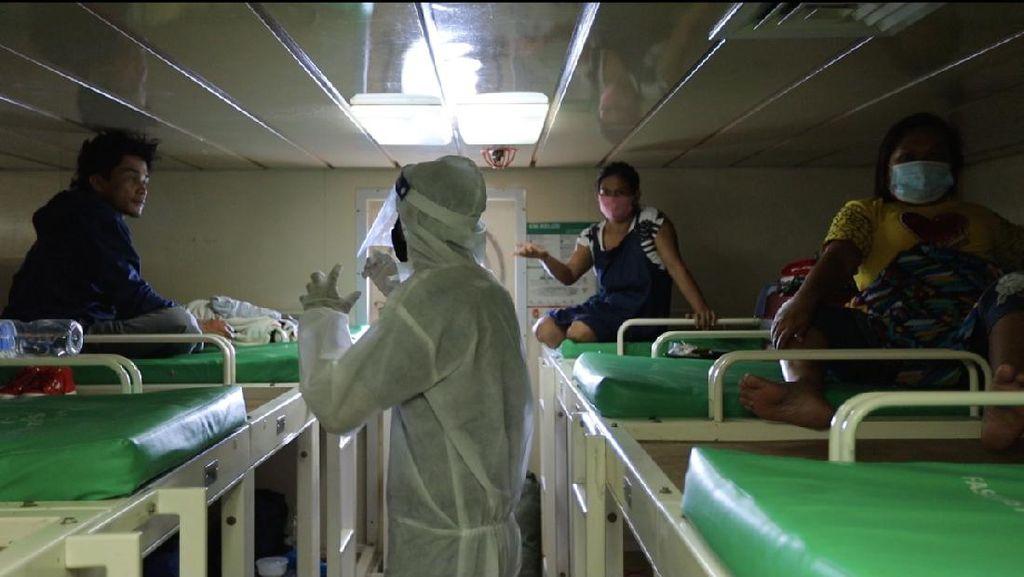 Potret Penerapan Prokes Ketat di Kapal Pelni