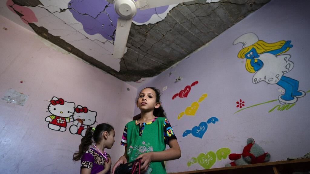 Potret Pilu Anak-anak Gaza Ratapi Kamar Tidurnya Hancur
