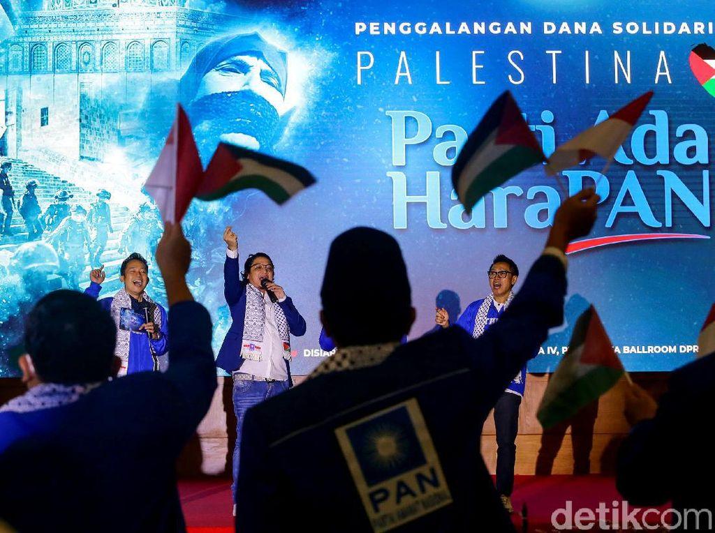 Saat Pasha Ungu-Eko Patrio Galang Dana untuk Palestina