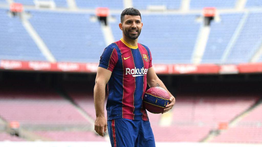 Aguero Hingga Messi, Deretan Striker Tua-tua Keladi di LaLiga