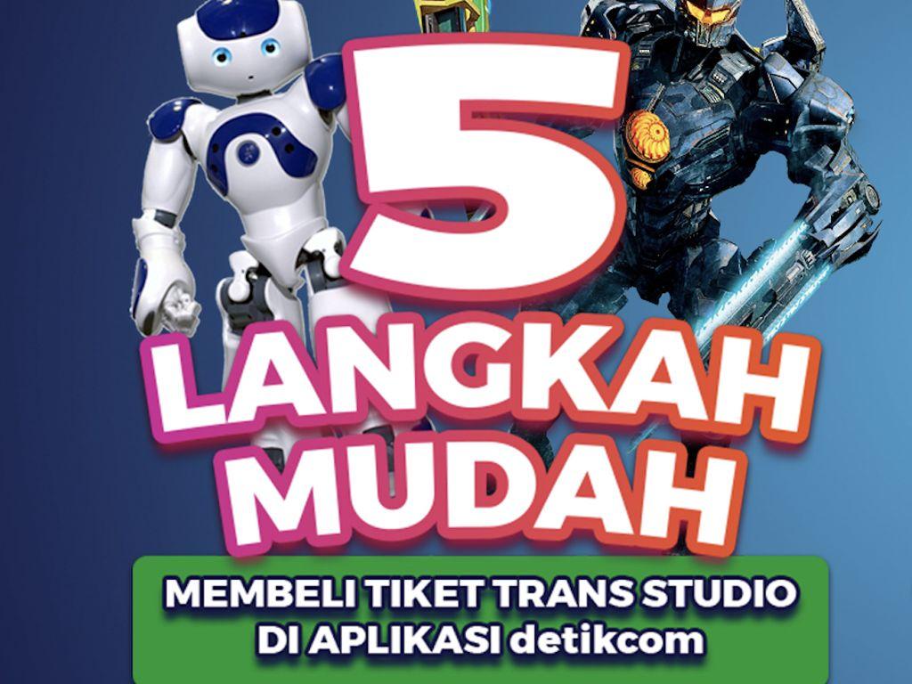 Promo Diperpanjang, Ini 5 Langkah Beli Tiket Trans Studio Cibubur