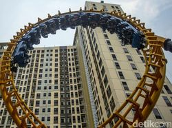 Uji Adrenalin Menjajal Boomerang Hyper Coaster di Trans Studio Cibubur