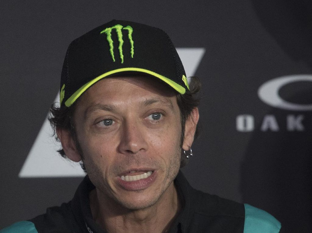 Valentino Rossi Pertanyakan Faktor Keselamatan di MotoGP