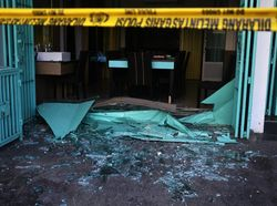Ada Ledakan di Rumah Makan Makassar, Lima Orang Terluka