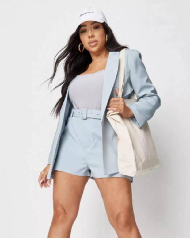 Foto: Plus Size High Waisted Shorts/missguided.com