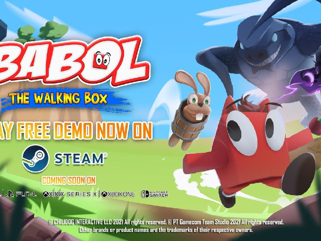 Game Indonesia Babol The Walking Box Rilis Demo di Steam