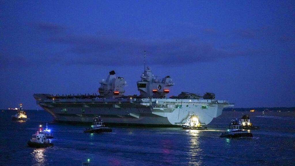 Potret Kapal Induk Termahal Inggris Berangkat ke Asia