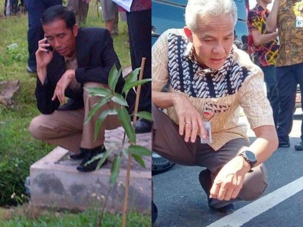 Gaya Jokowi Vs Ganjar Jelang Pilpres