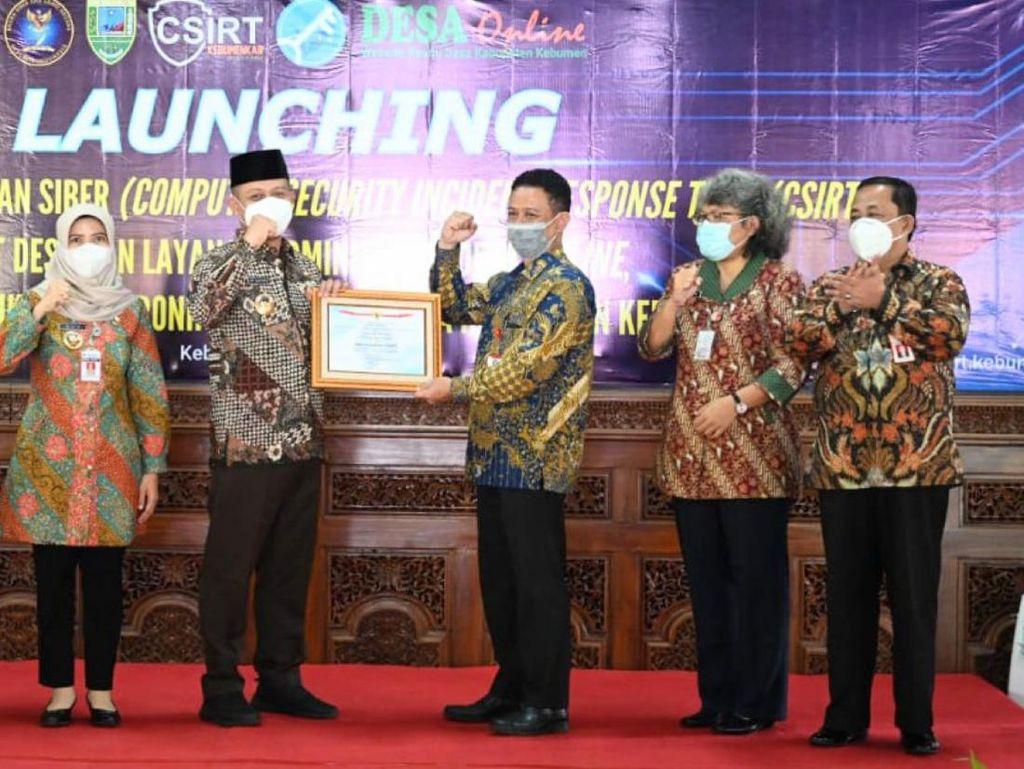 Kebumen Jadi Kabupaten Pertama di Indonesia yang Memiliki Tim CSIRT