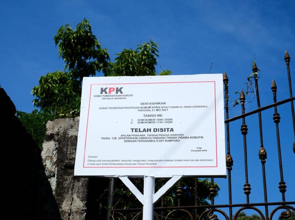 KPK Sita Sebidang Tanah Terkait Penyidikan Kasus Eks Walkot Batu Eddy Rumpoko