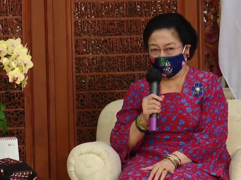 Megawati ke Kaum Perempuan: Kok Mau Ya Digampar Suami, Saya Sih Nggak!