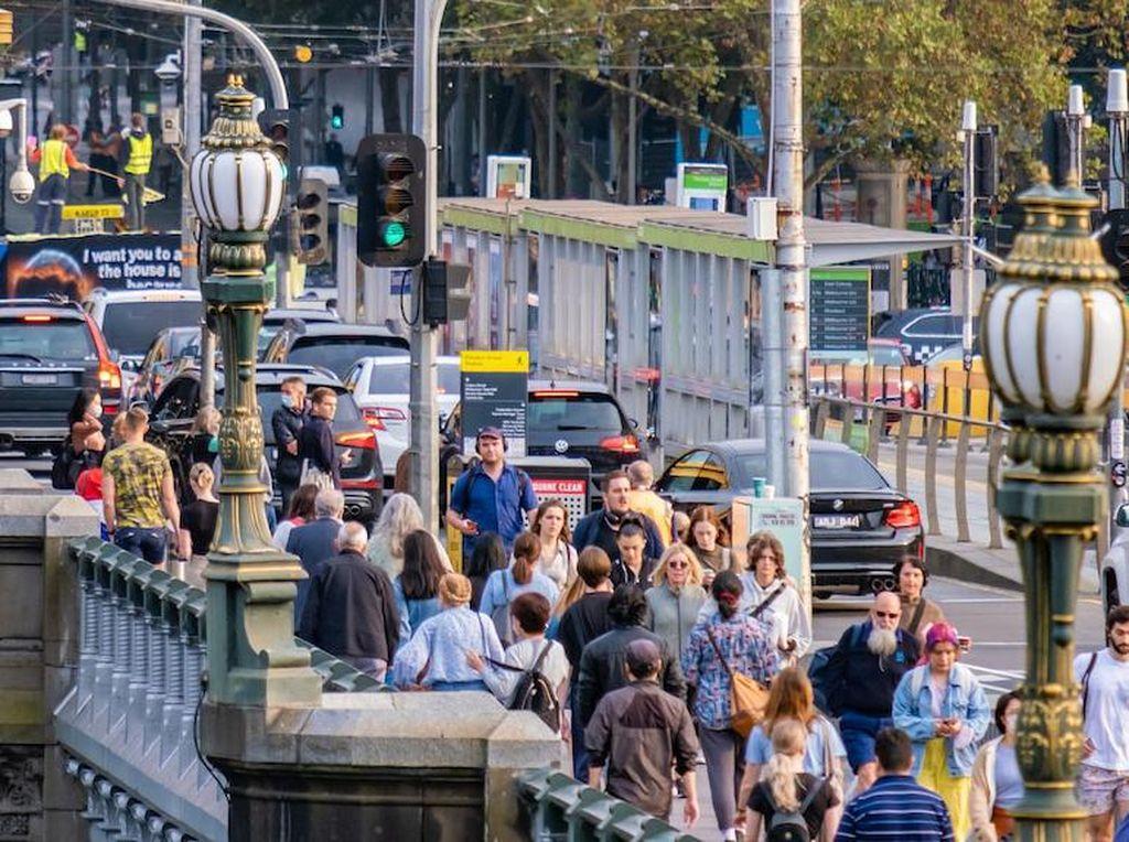 Melbourne Perpanjang Lockdown karena Penyebaran Corona yang Lebih Cepat