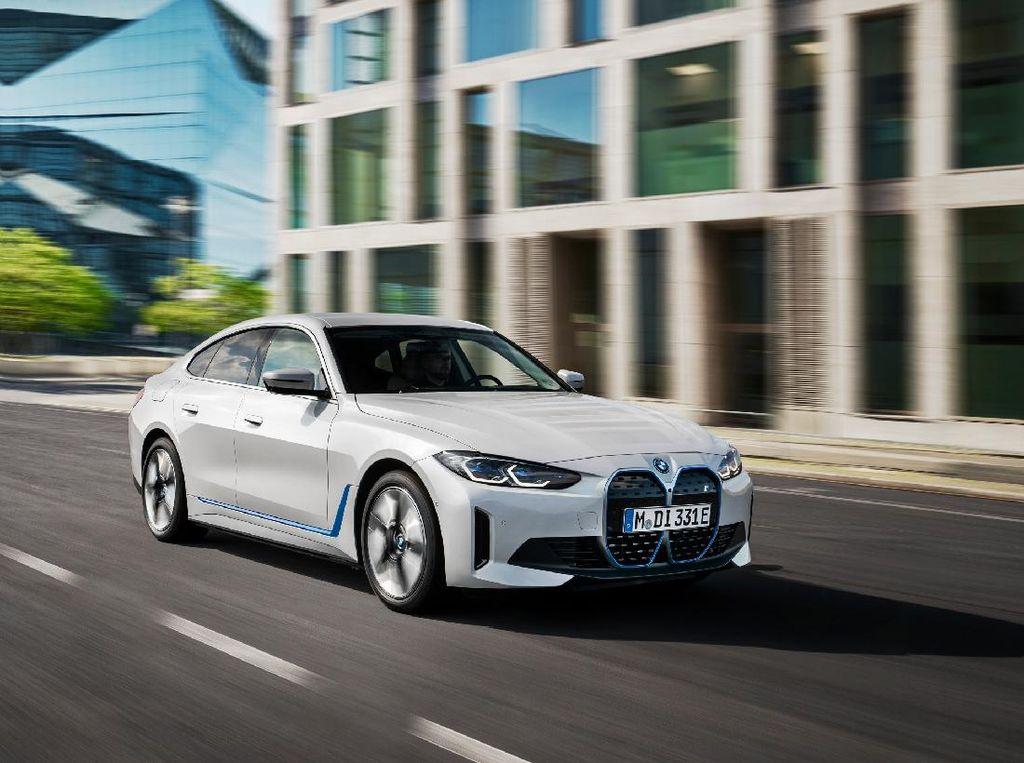 Resmi Meluncur, Ini Mobil Listrik Baru BMW i4