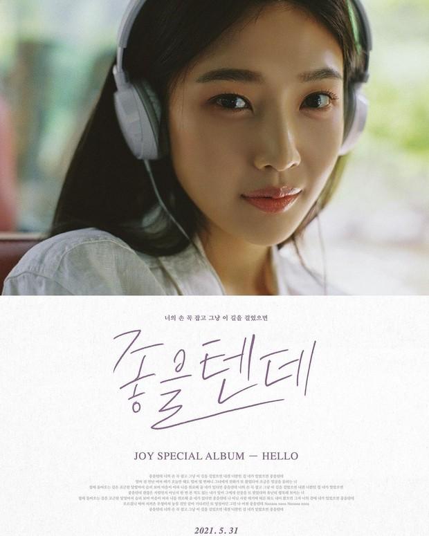 Poster Album 'Hello'/instagram.com/_imyour_joy