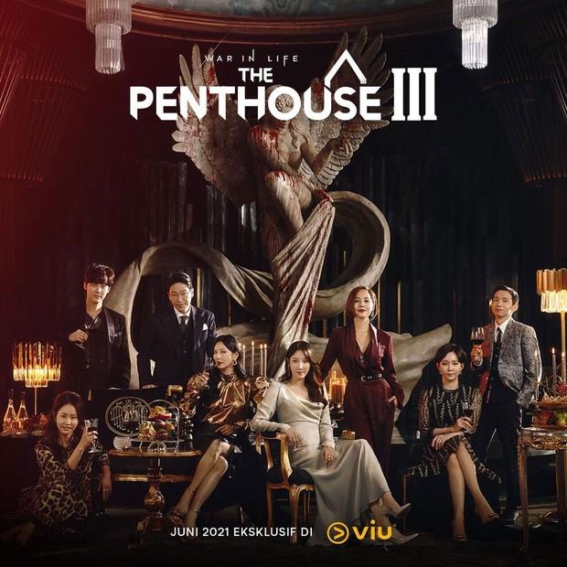 Poster Penthouse Season 3 Penayangan Viu. Sumber : instagram/viuindonesia