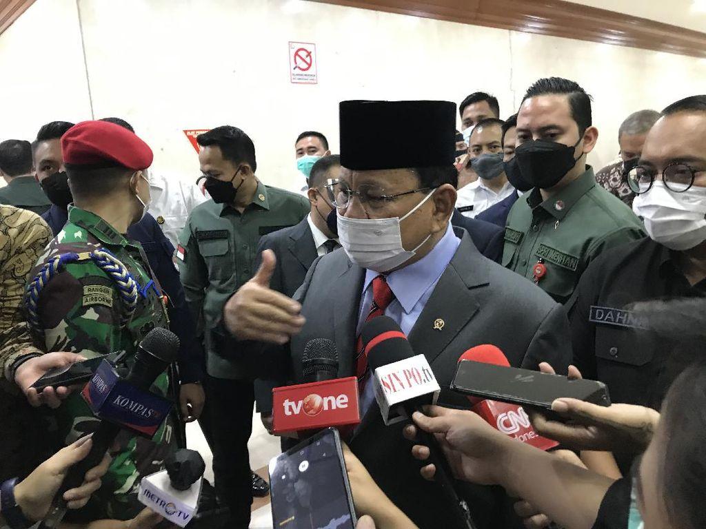 Datang ke DPR, Prabowo Janji Blak-blakan soal Alutsista Rp 1,7 Kuadriliun