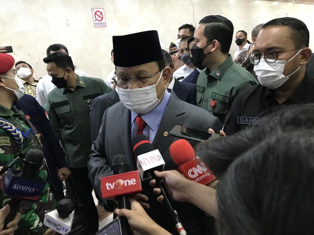 Prabowo Tegaskan Rencana Pembelian Alpalhankam Masih Digodok