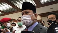 Canda Prabowo soal Pro-Kontra Jadi Menhan: Muka Gue Muka Kudeta Kali Ya