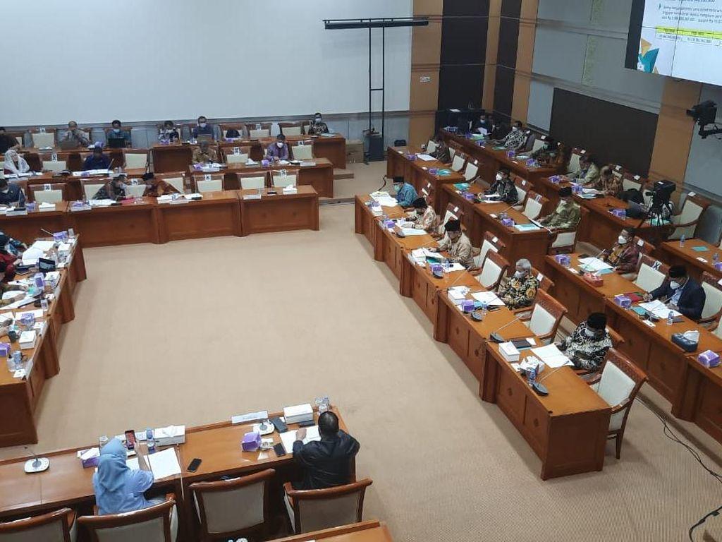 Menag-Komisi VIII DPR Bahas Finalisasi Nasib Haji 2021