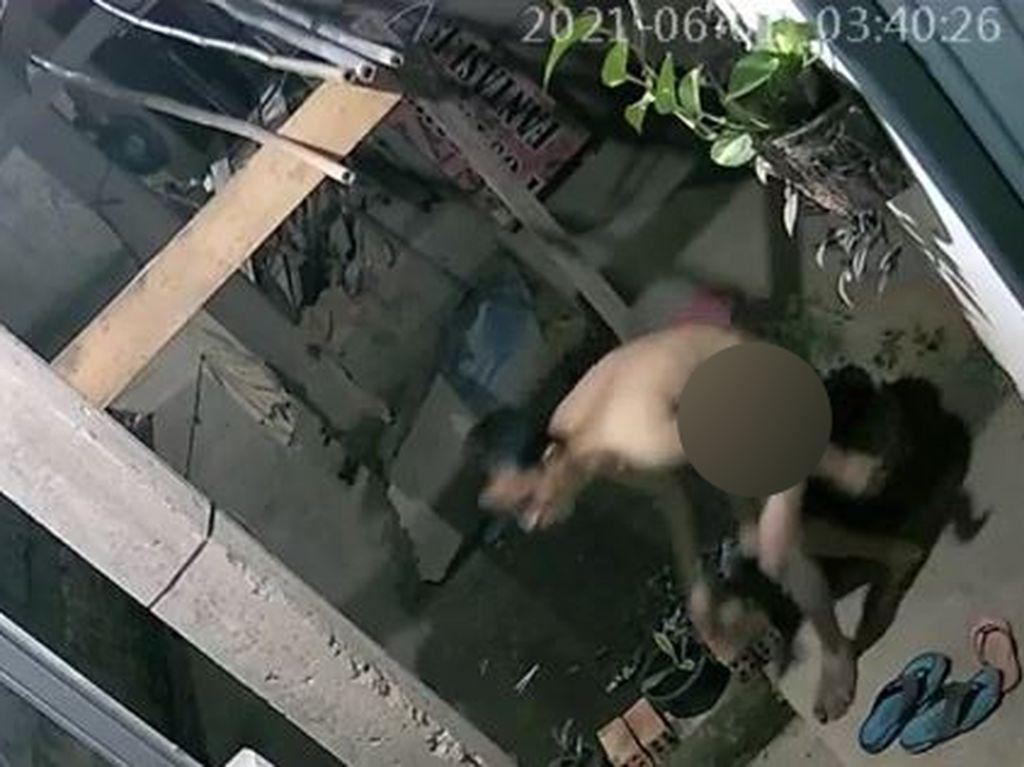 Polisi: Aksi Pria Bugil Maling Sepeda di Palembang Diduga Berkomplot