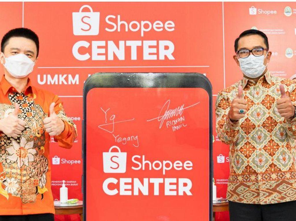 Shopee Dorong UMKM Jabar Go Digital Lewat 5.000 Pusat Digital Desa