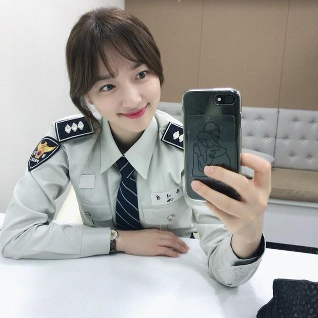 Ye Jin sebagai polisi/Sumber:instagram.com/yjiinp