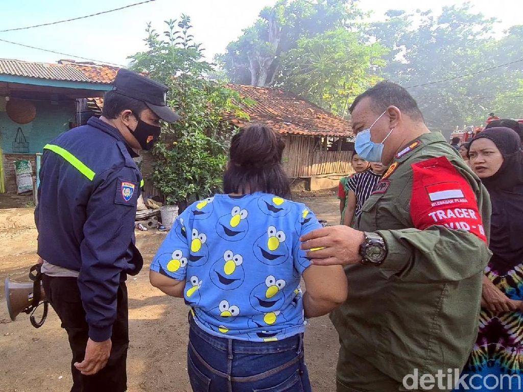 Polisi Amankan Wanita yang Diduga Pembakar Warung di Palabuhanratu