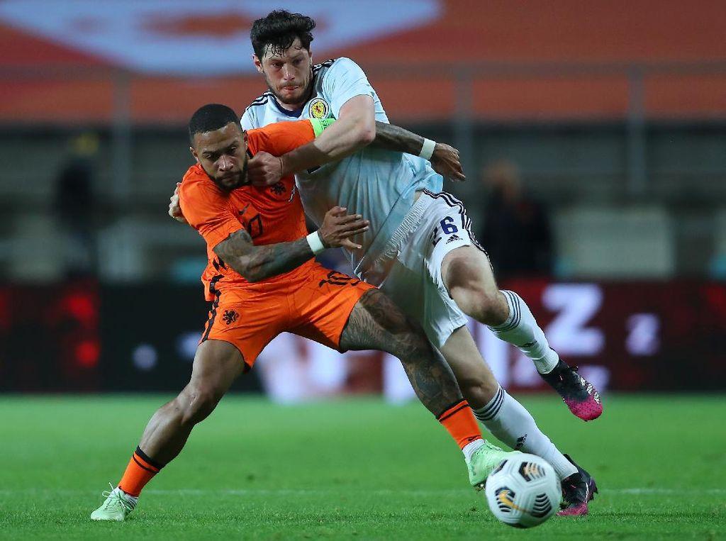 Laga Uji Coba: Belanda Vs Skotlandia Imbang 2-2