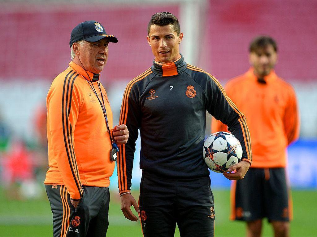 Rumor Transfer: Ancelotti Harapkan Ronaldo Balik ke Real Madrid