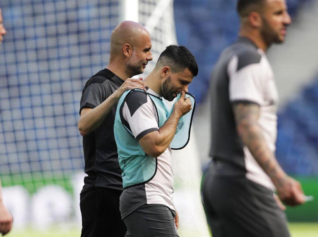 Ayah Aguero: Tangisan Guardiola Itu Air Mata Buaya!