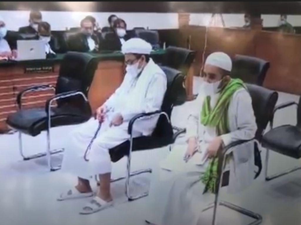 Momen Habib Rizieq Dituntut 6 Tahun Bui Atas Kasus Swab RS UMMI