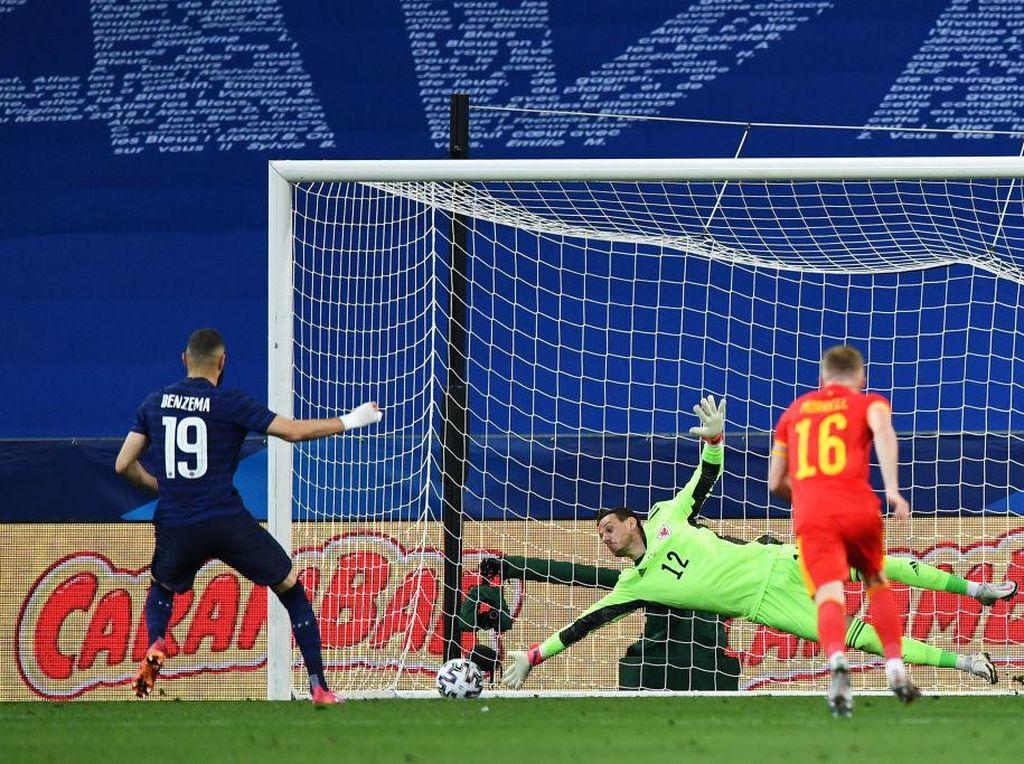 Benzema Gagal Penalti, Mungkin Masih Tabung Gol untuk Prancis