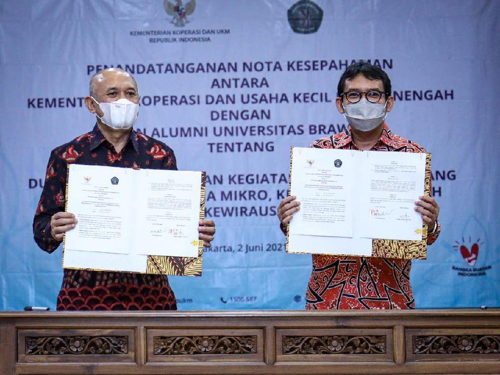 Menkop UKM Gandeng Ikatan Alumni Unibraw Bangun UMKM Masa Depan