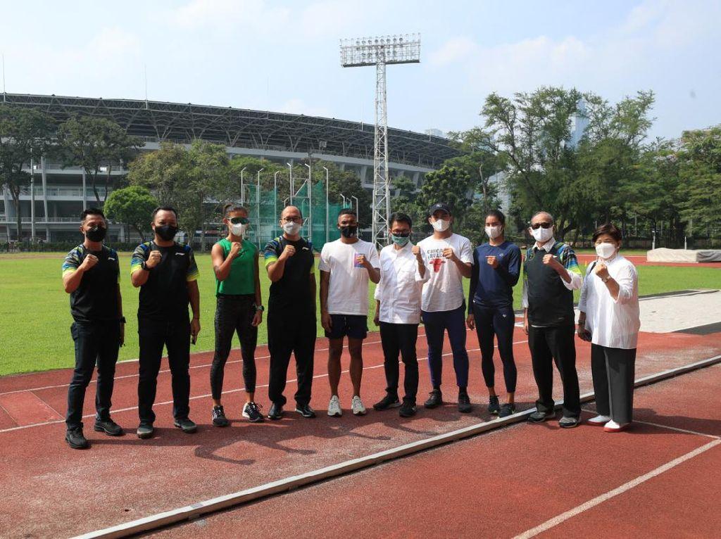 PASI Keluhkan Stadion, CdM Olimpiade Akan Bersurat ke PPK GBK dan Setneg