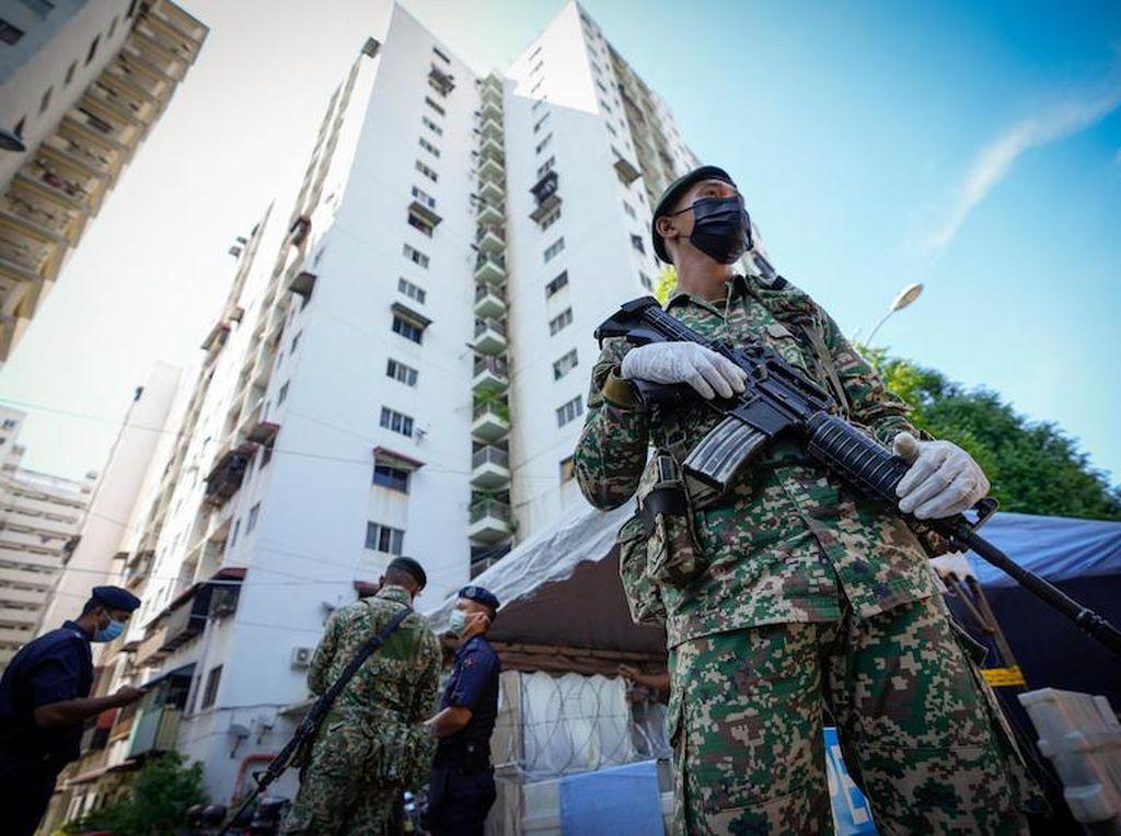 Lockdown di Malaysia Tak Seketat Sebelumnya