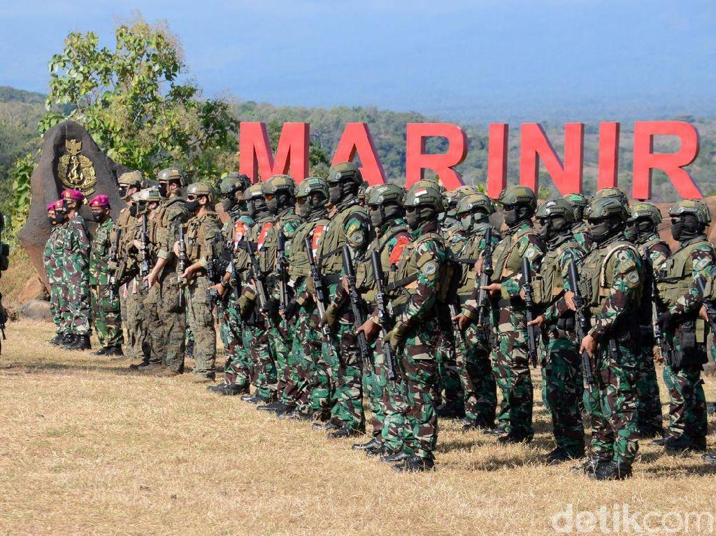 Marinir Indonesia dan Amerika Serikat Latihan Bersama di Situbondo