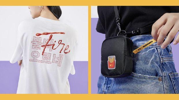 merchandise bts meal Dok: McDonald's via wevershop