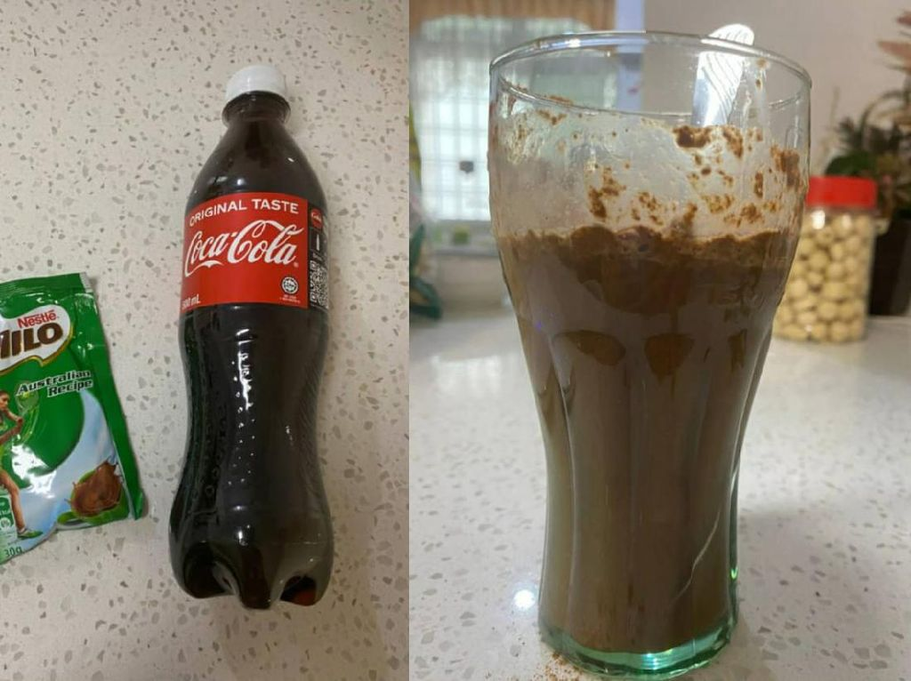 Netizen Ini Bikin Milo Campur Cola, Rasanya Mirip Root Beer!