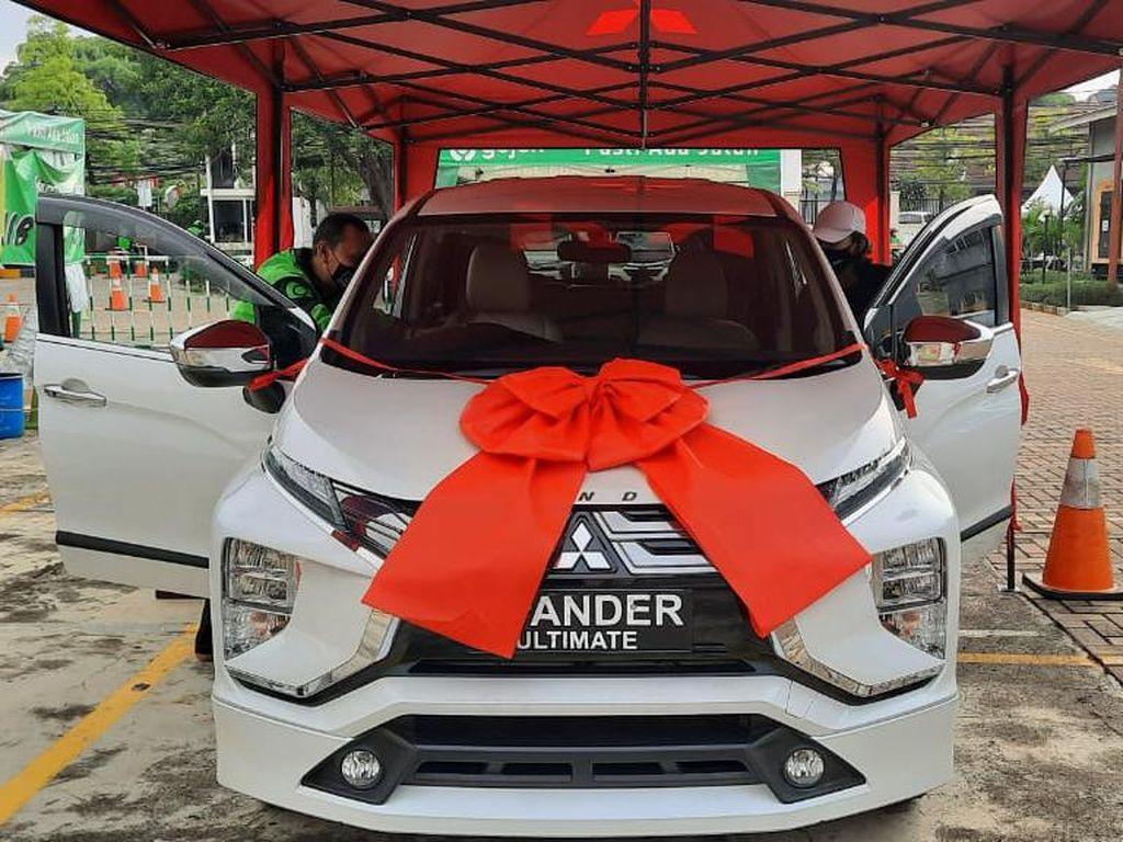 Mantap! Driver Ojek Online Sudah Divaksin Bisa Dapat Xpander