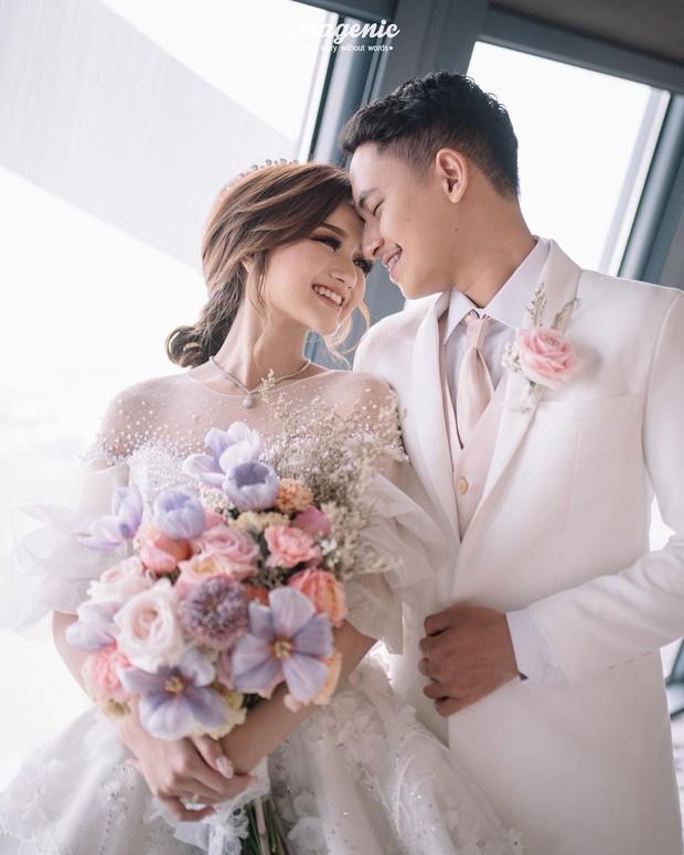 Nanda Arsyinta dan Ardya berhasil wujudkan wedding dream selama ini/instagram.com/nandaarsynt