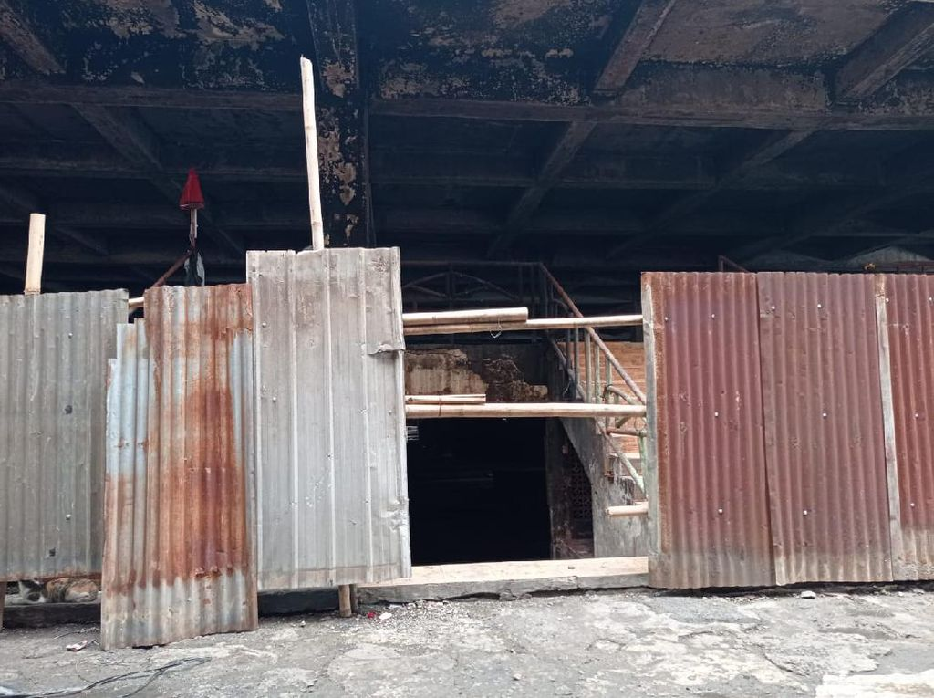 Kapan Blok C Pasar Minggu yang Terbakar Selesai Diperbaiki?