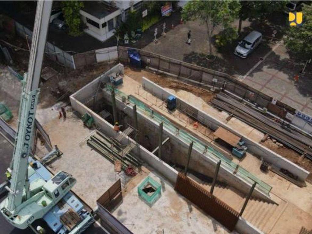 Terowongan Istiqlal-Katedral Capai 61%, Ditarget Rampung Agustus