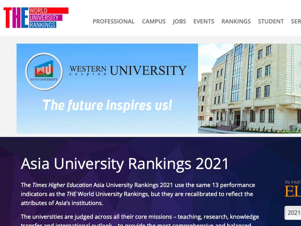 9 Universitas Terbaik Indonesia se-Asia, Siapa Teratas?