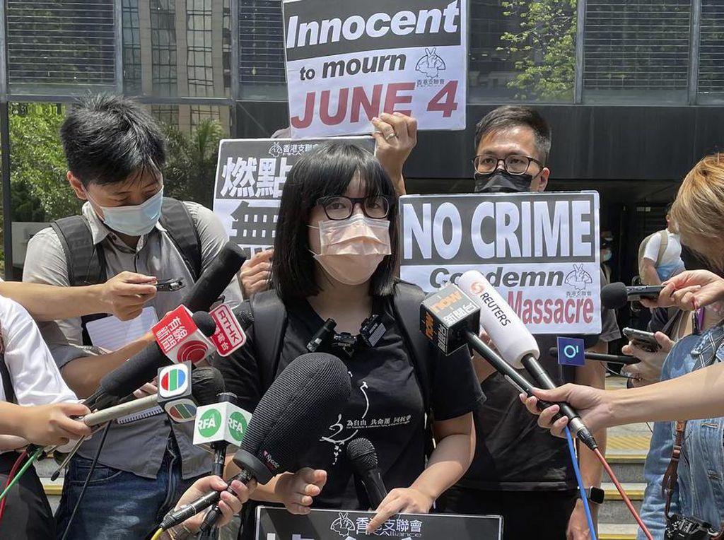 Aktivis Demokrasi Hong Kong Ditangkap Jelang Peringatan Tiananmen