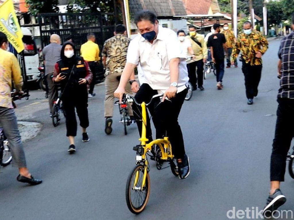 Airlangga: Pemerintah Tengah Dorong SNI Sepeda Kreuz