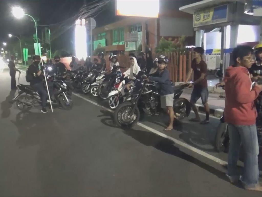 Balapan Liar, Belasan Remaja di Makassar Diamankan Polisi