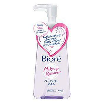 Biore Makeup Remover Perfect Cleansing Oil (Sumber : kao.com)