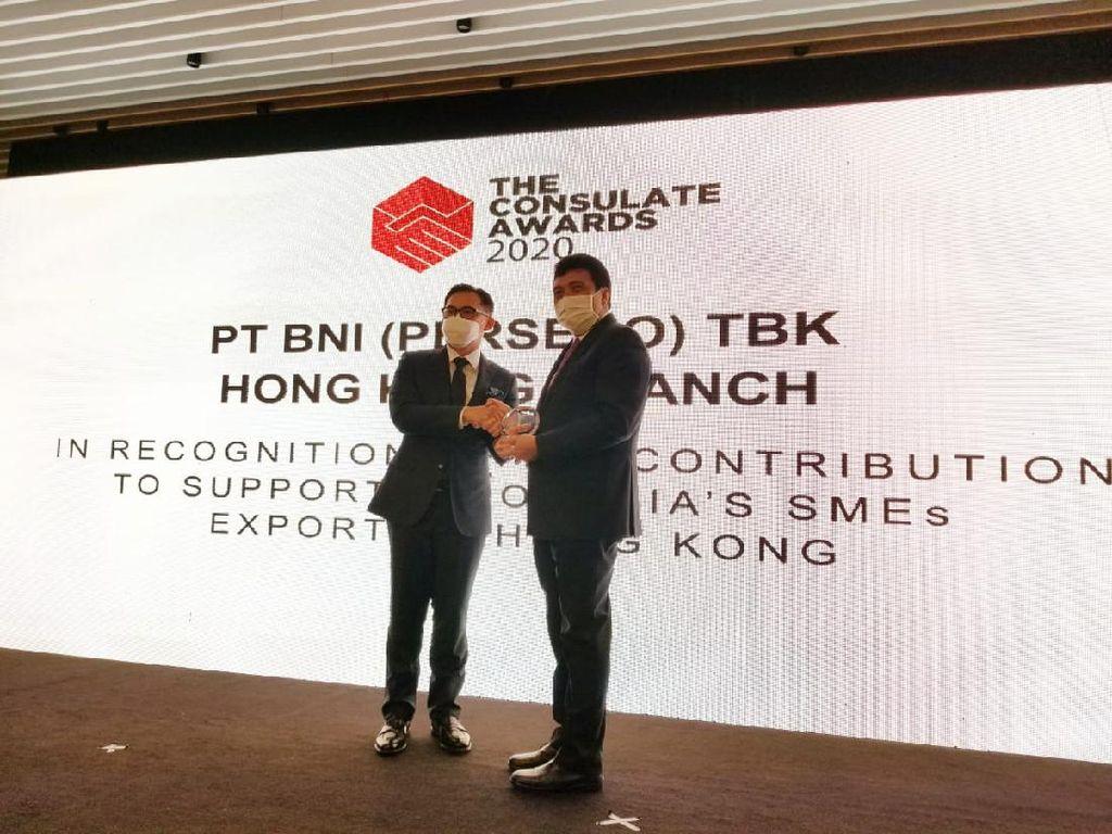 Aktif Dukung Ekspor, BNI Raih Consulate Award 2020