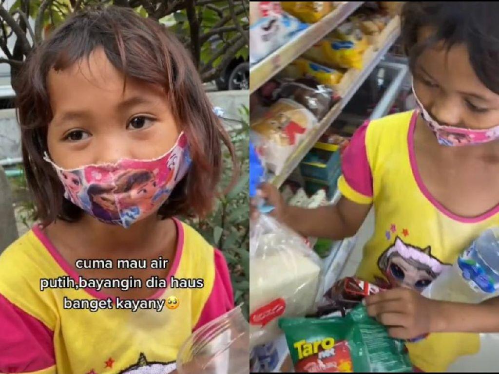 Netizen Traktir Bocah Pemulung di Minimarket, Cuma Minta Air Putih!
