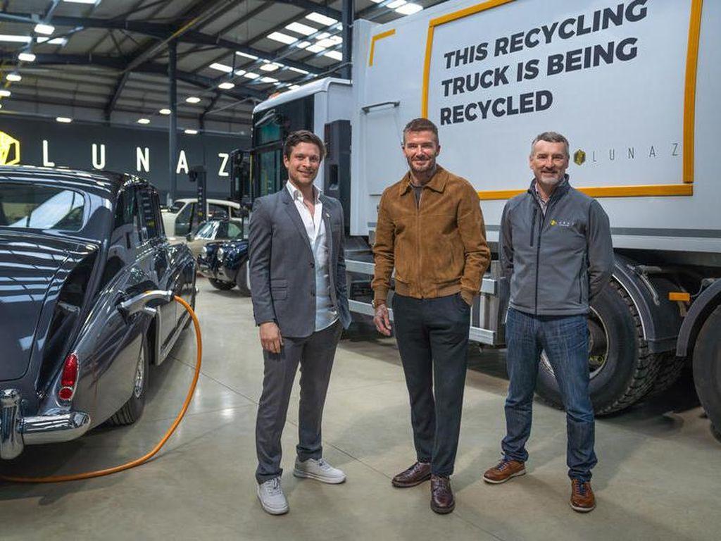 Ini Lunaz, Pabrikan Mobil Listrik yang Sebagian Sahamnya Dipunya David Beckham